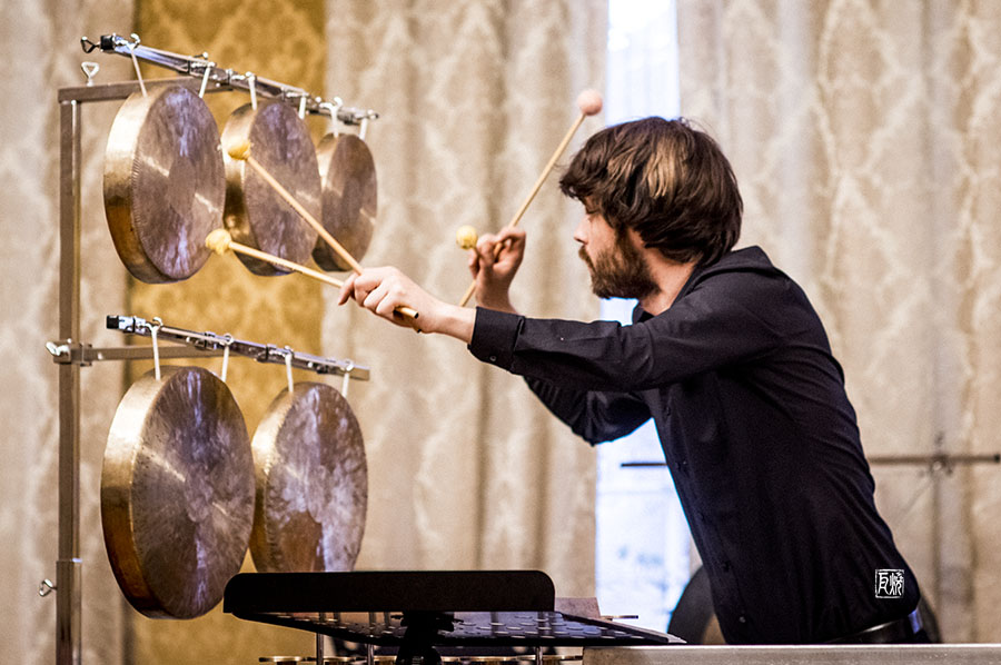 Foto: Kontrapunkte Speyer Nicholas Reed, percussion