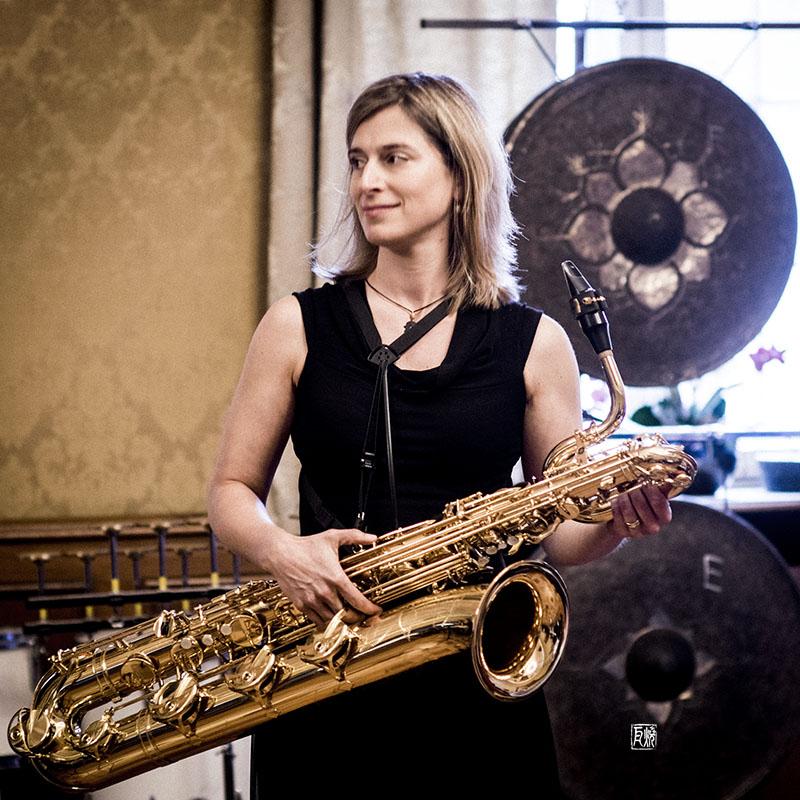 Foto: Kontrapunkte Speyer - Daniela Wahler, Saxophon